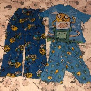 Boys Adventure Time PJs